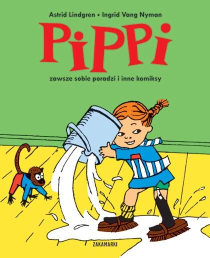 Pippi zawsze sobie poradzi i inne komiksy