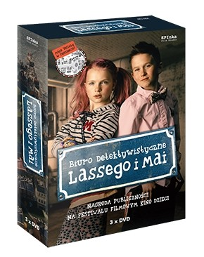 Biuro Detektywistyczne Lassego i Mai - zestaw trzech filmów DVD