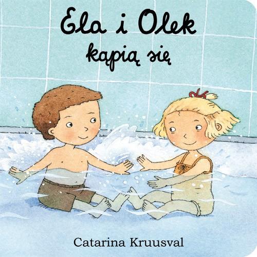 Ela i Olek kąpią się