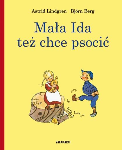 Mała Ida też chce psocić