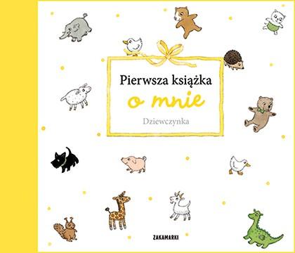 Pierwsza książka o mnie. Dziewczynka